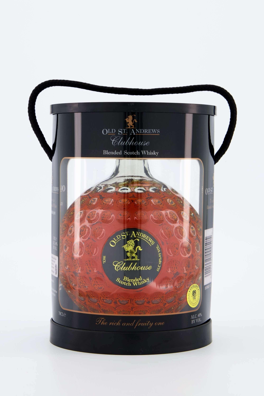Scotch Whisky Golfball-Flasche