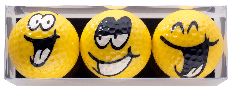 "Golfbälle ""Big Smiles"""