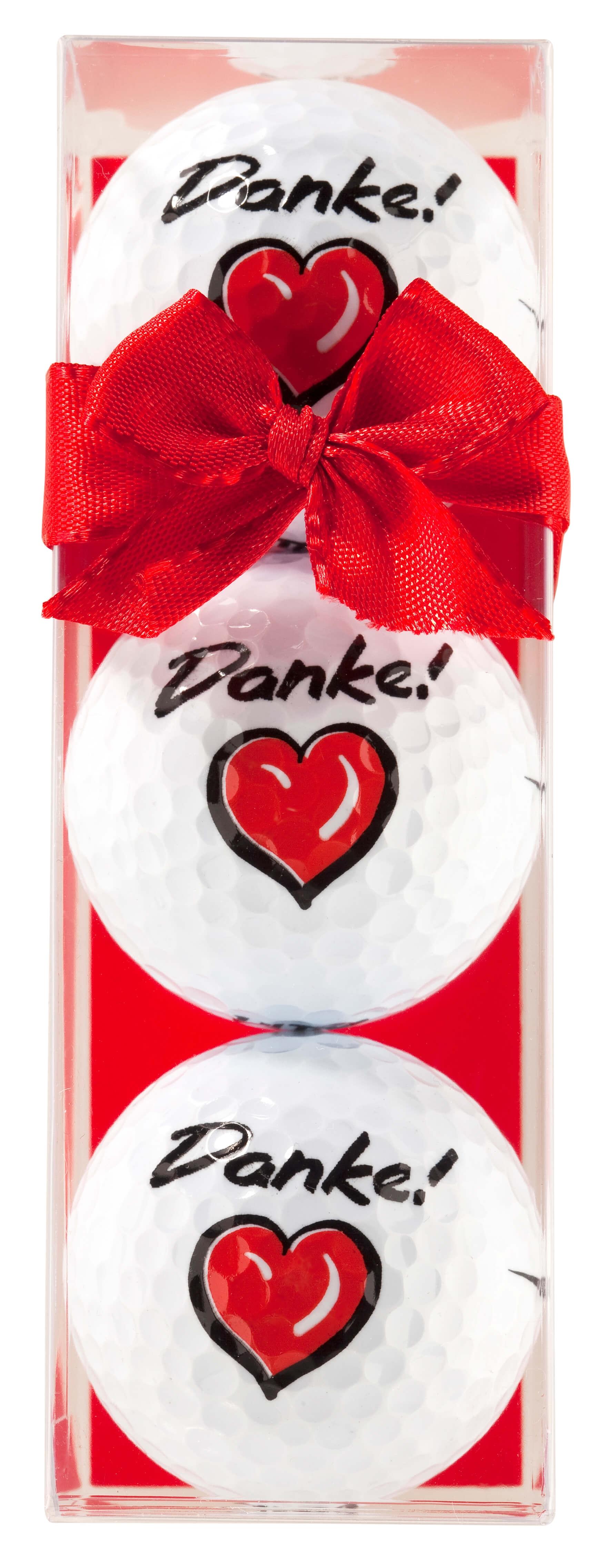 """Golfbälle """"Danke"""""""