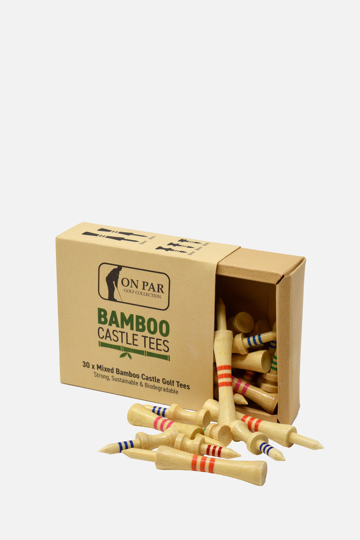 Bambustees 5 Grössen 30 Stück