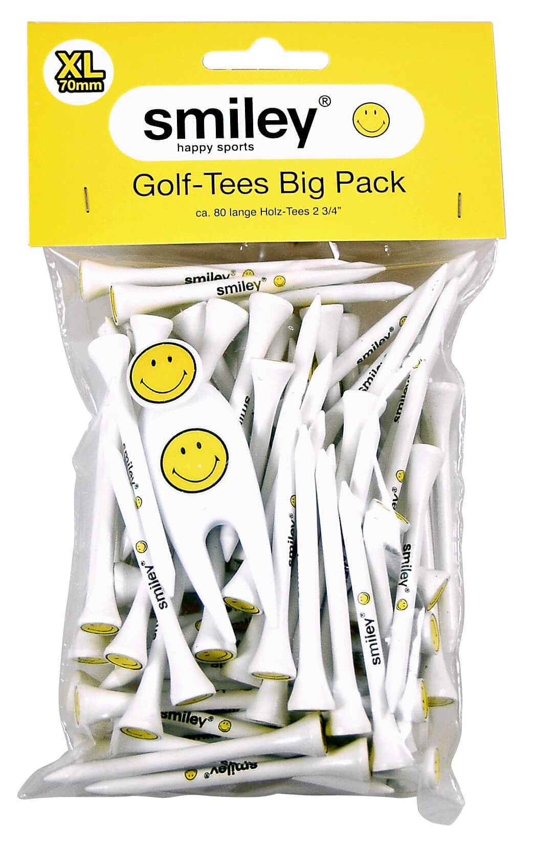 "Golf-Tees ""Smiley"""