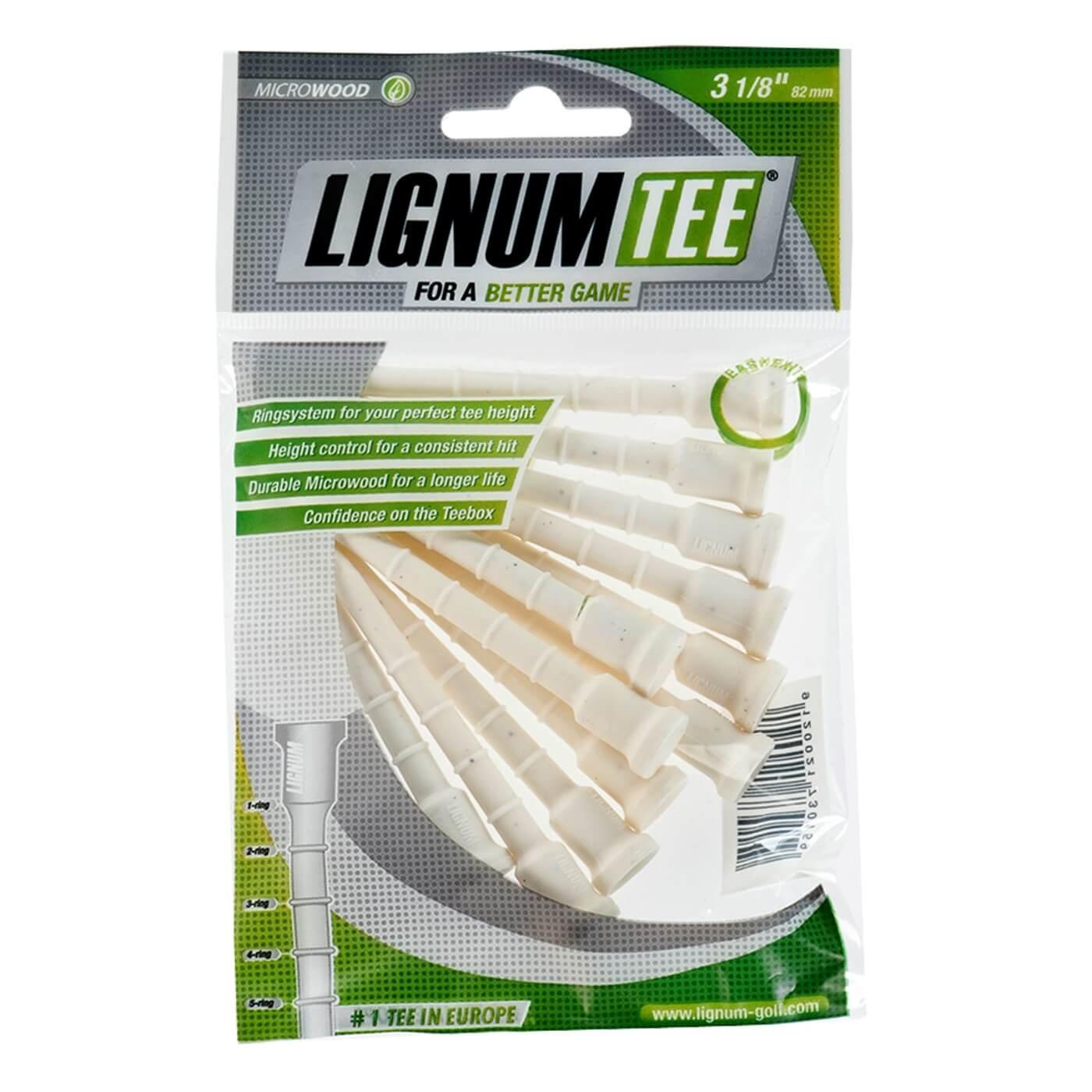 """Lignum Tee 3 1/8"""" (82mm)"""